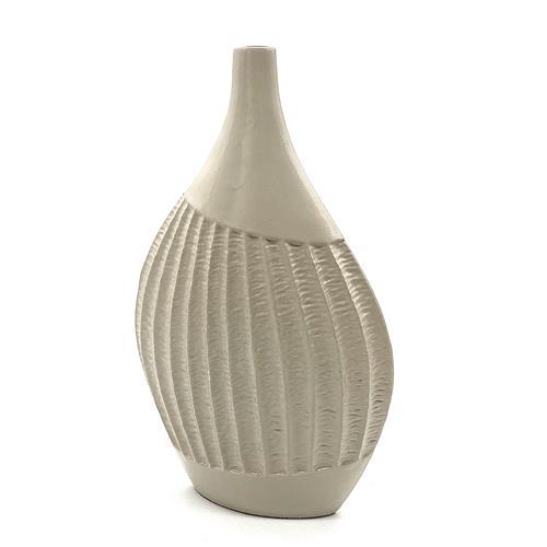 Vaso Artigianale in ceramica tortora