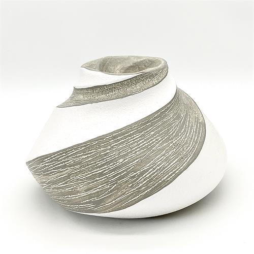 Vaso-Centrotavola effetto pietra