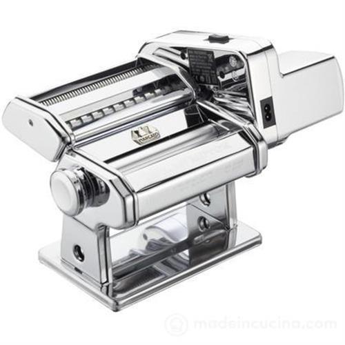 Marcato Atlasmotor - Macchina per Pasta con Motore, 3 Formati Pasta, Regolatore 10 Posizioni